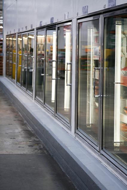 Kylskåp i butik
